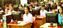 Software training service provided at Kalina, University of Mumbai,India for computer basic, programming concept and linux